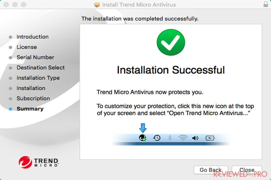 Installation Successfull